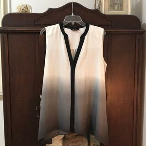 Hombre Tunic, Black, grey and cream size 14